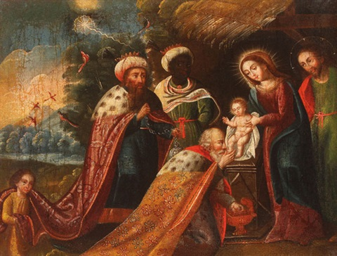 Adoration of the Magi - Marcos Zapata