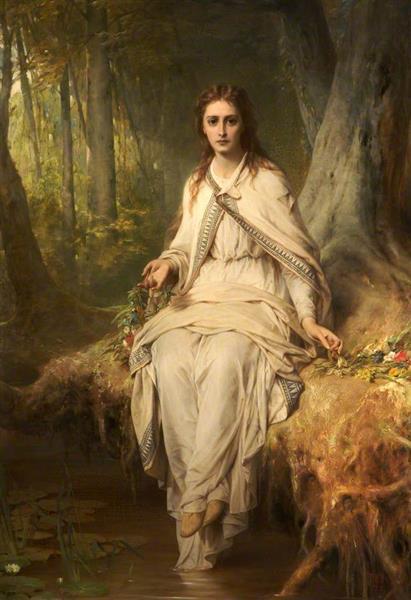Ophelia, 1873 - Thomas Francis Dicksee