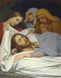 The Holy Women at the Sepulchre - Ary Scheffer