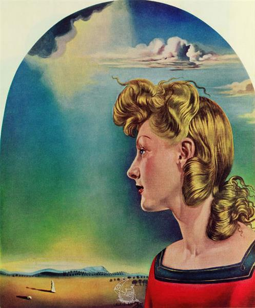 Girl in Love, 1953 - Salvador Dalí