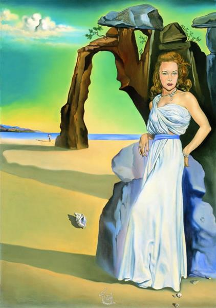 Portrait of  Ann Woodward (1953), 1953 - Salvador Dalí