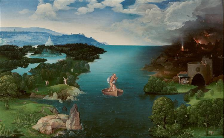 Landscape with Charon Crossing the Styx, 1520 - 1524 - Joachim Patinir
