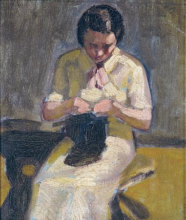 Artist's Wife, 1935 - Guido Viaro