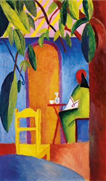 Turkish Café II - August Macke