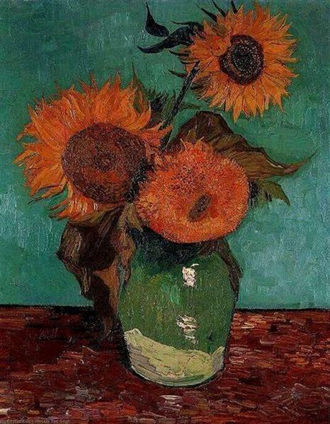 Sunflowers, 1888 - Винсент Ван Гог