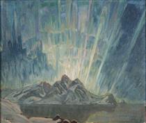 Northern Lights. Study from North Norway - Анна Боберг