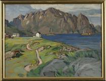 Summer, Store Molla. Study from Lofoten - Анна Боберг