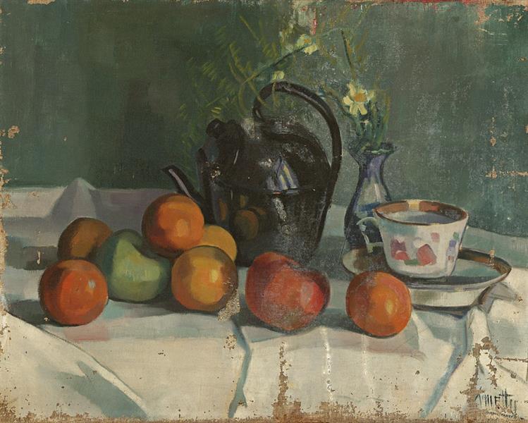 Still Life, c.1920 - 1930 - Kmetty János