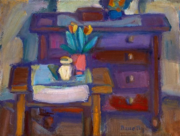 Still Life, c.1930 - c.1939 - Kmetty János