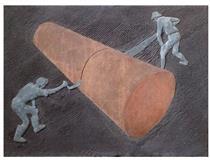 Sawing - Peter Laszlo Peri