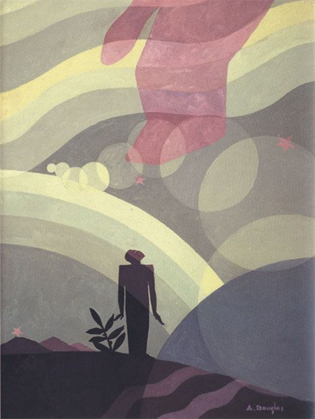 The Creation, 1935 - Aaron Douglas