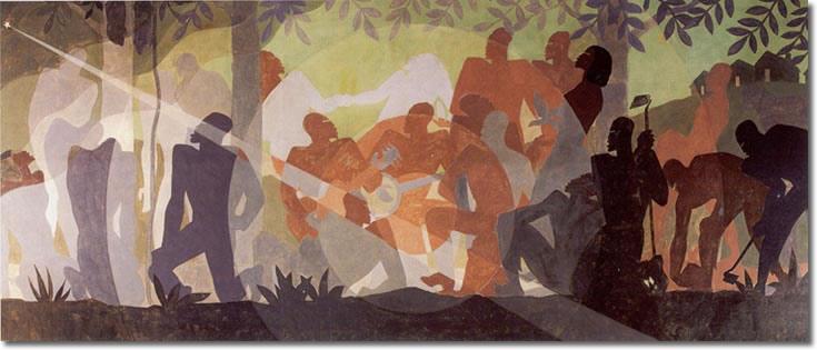 An Idyll of the Deep South, 1934 - Aaron Douglas