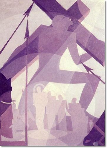 The Crucifixtion, 1927 - Aaron Douglas