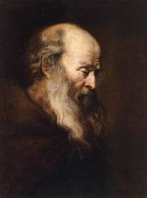 Portrait of an Old Man - Jan Lievens