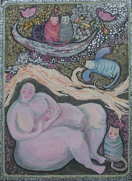 Mother 3, 1993 - Małgorzata Serwatka
