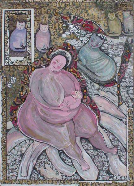 Mother 8, 1993 - Małgorzata Serwatka