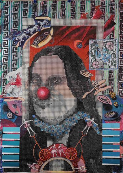 Me - a Clown, 2012 - Małgorzata Serwatka