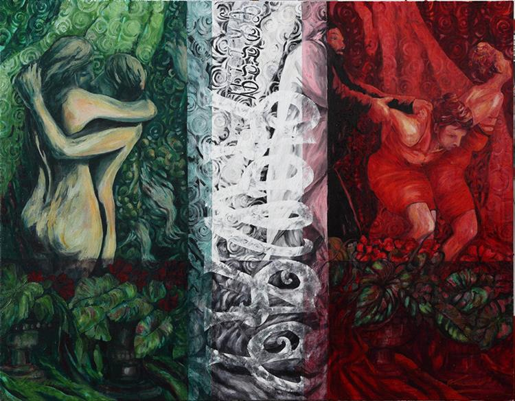 Triptych, 2014 - Małgorzata Serwatka