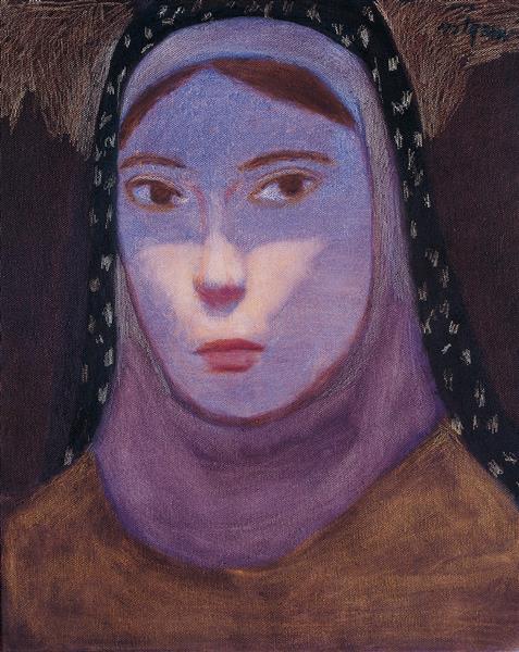 Untitled Portrait, 1996 - Nuri Iyem