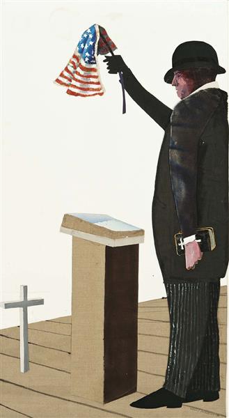 Demagogue, 1990 - Benny Andrews