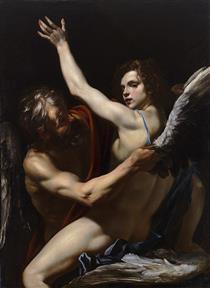 Daedalus and Icarus - Orazio Riminaldi