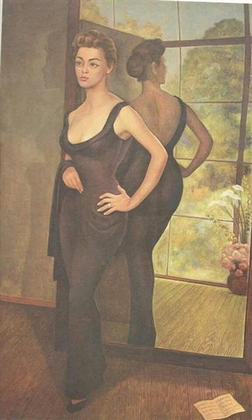 Portrait of Silvia Pinal, 1956 - Diego Rivera