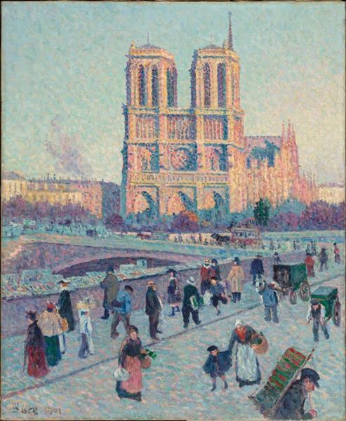 Le Quai Saint Michel Et Notre Dame, 1901 - Maximilien Luce