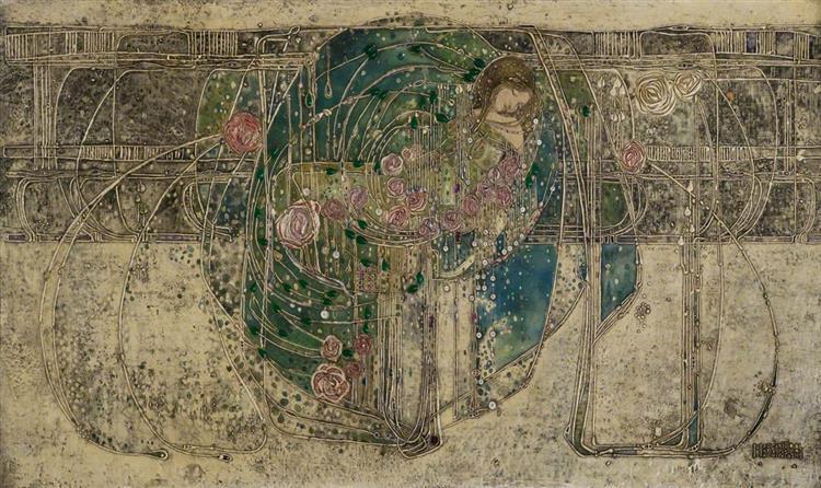 The Sleeping Princess - Margaret Macdonald