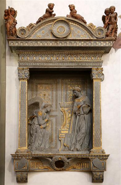 Annunciazione Cavalcanti, c.1435 - Donatello