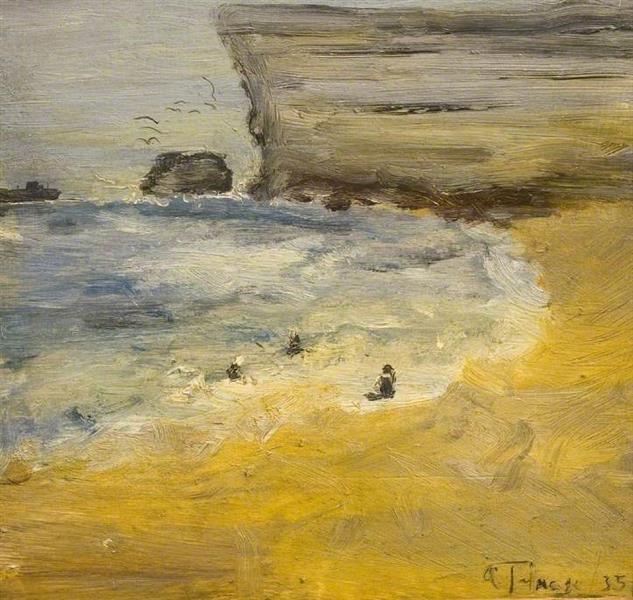 Seascape, 1935 - Algernon Talmage