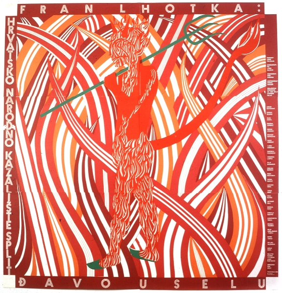 Devil in the Village, 1986 - Boris Bućan