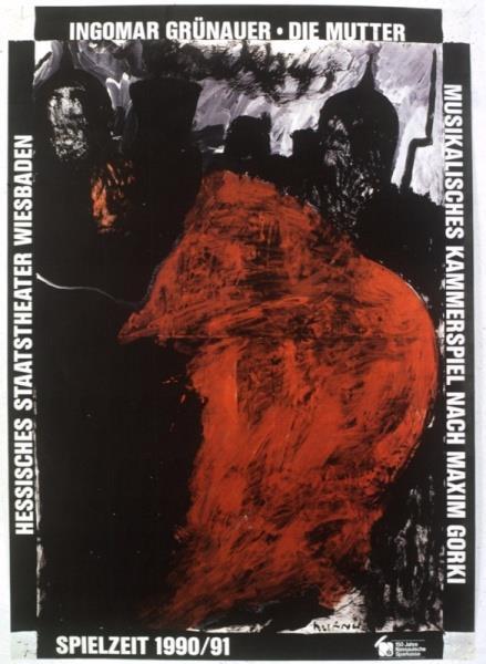 Ingomar Gruenauer: Die Mutter, 1990 - Boris Bućan