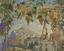 Grapes in Capri - Konstantin Ivanovich Gorbatov