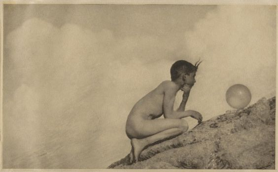 The Wondrous Globe - Anne Brigman