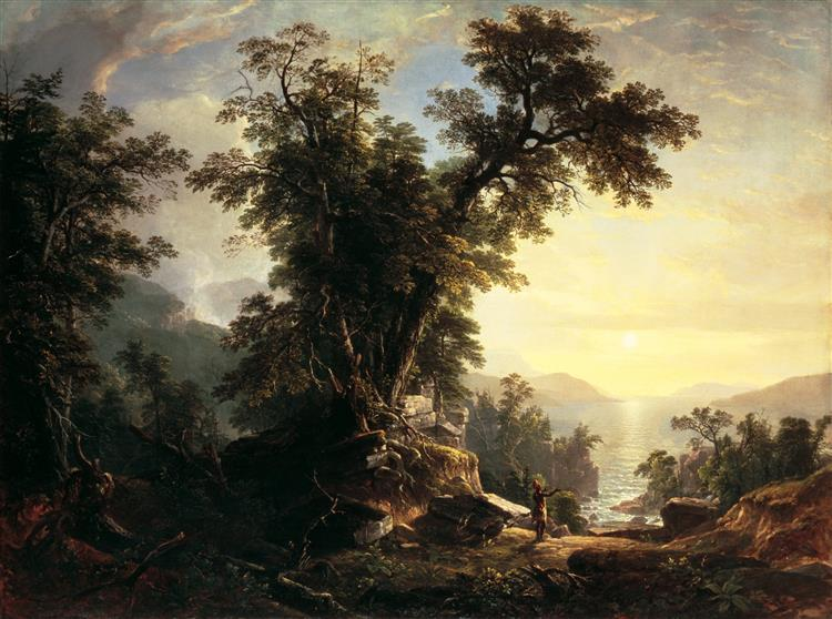 The Indian's Vespers - Asher Brown Durand