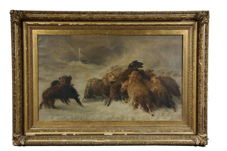 Souvenir of Auvergne, 1873 - August Friedrich Schenck