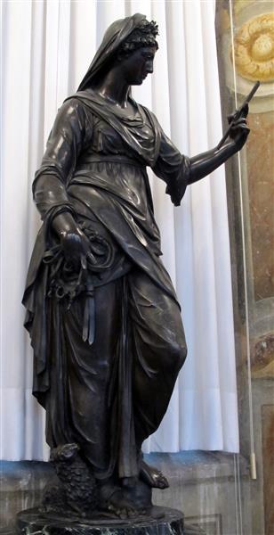 virtù dalla cappella grimaldi in s. francesco di castelletto, c.1590 - Giambologna