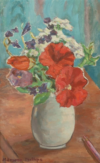 VASE OF FLOWERS - Marjorie Acker Phillips