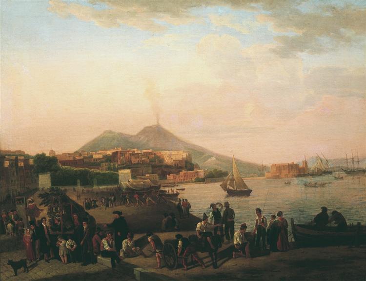 Naples, 1819 - Sylvester Shchedrin