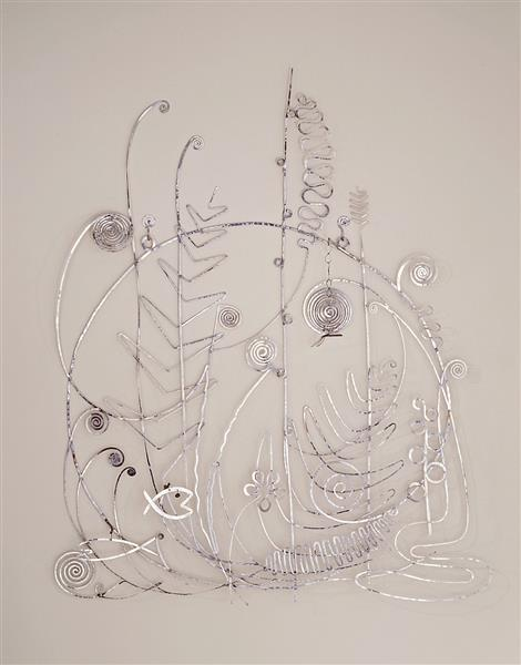 Silver Bed Head, 1946 - Alexander Calder
