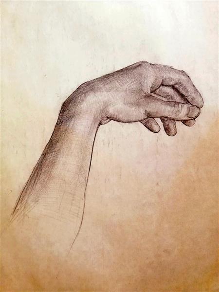 My hand - Alfred Freddy Krupa