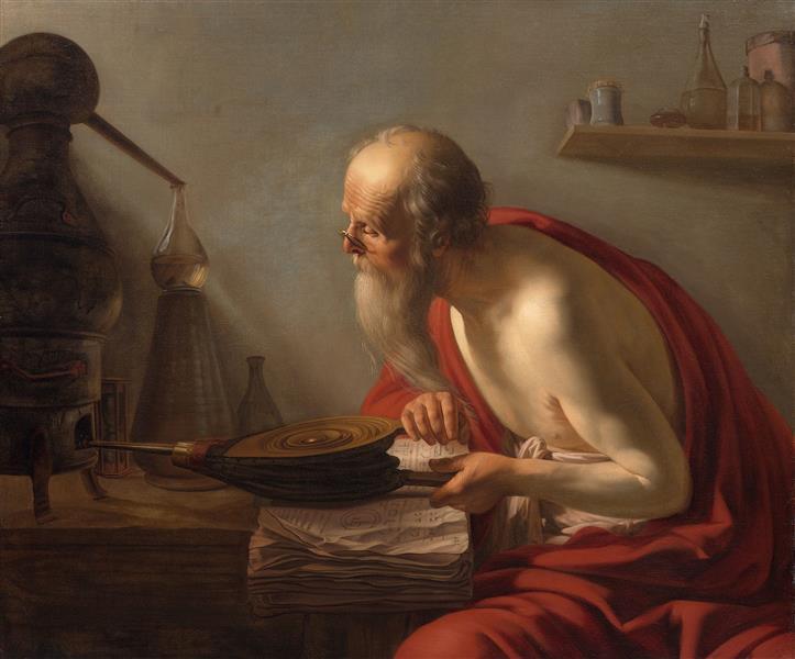 An Alchemist - Johannes Moreelse