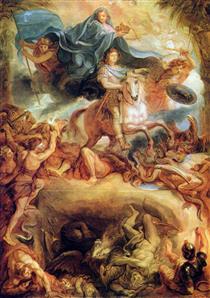 Apotheosis of Louis XIV - Charles Le Brun