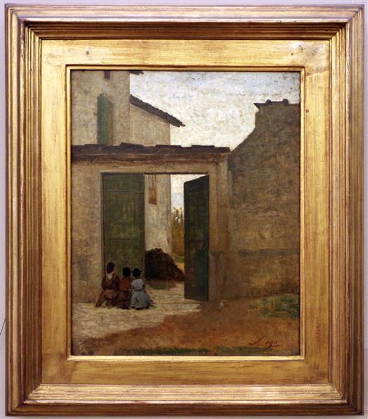 Villa Reale Di Milano, c.1870 - Silvestro Lega