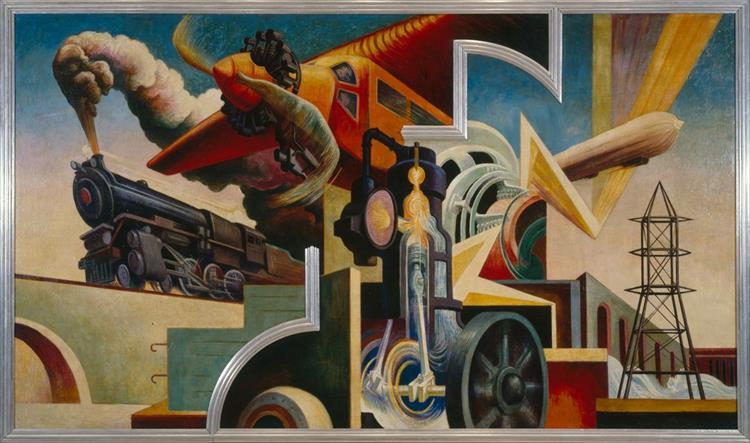 Instruments of Power, 1930 - 1931 - Thomas Hart Benton