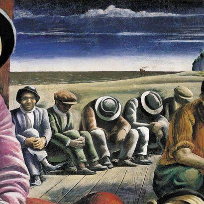 Desocupados (detalle), 1934 - Antonio Berni