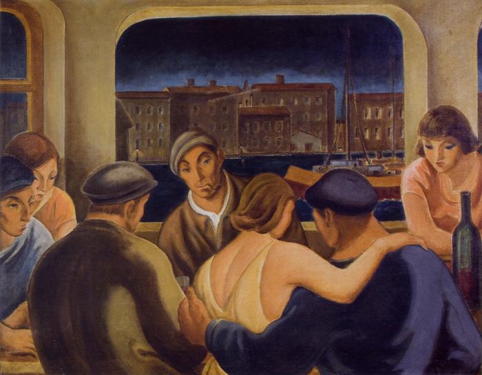 Bar De Puerto, 1940 - Carlos Quizpez Asín