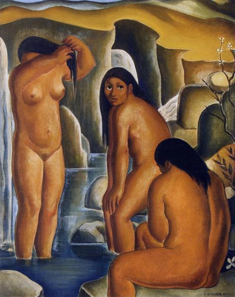 Las Bañistas, 1943 - Carlos Quizpez Asín
