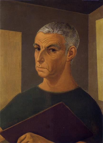 Autorretrato, 1960 - Carlos Quizpez Asín