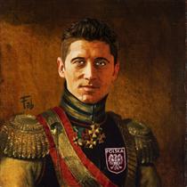 Robert Lewandowski - Fabrizio Birimbelli (Pupazarro)